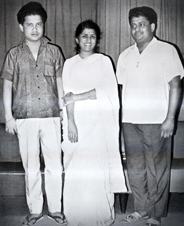 Laxmikant, Lata Mangeshkar and Pyarelal