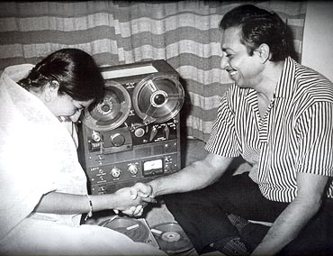 Lata Mangeshkar and Madan Mohan