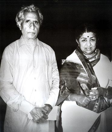 Sajjad Hussain and Lata Mangeshkar
