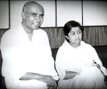 Khayyam and Lata Mangeshkar