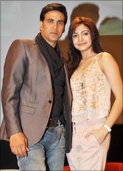 Akshay Kumar and Anushka Sharma