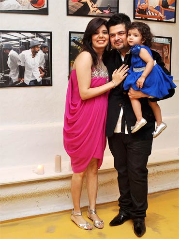 Manisha, Dabboo and Myrah Ratnani