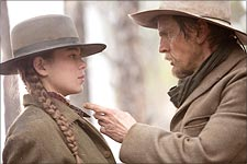 A scene from True Grit