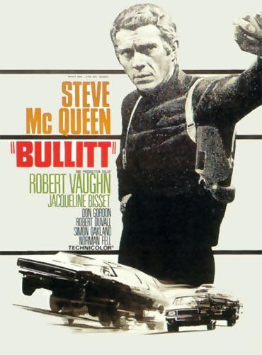 A poster of Bullitt