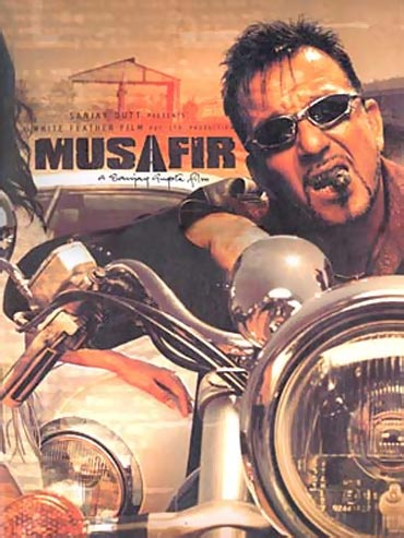 A poster of Musafir