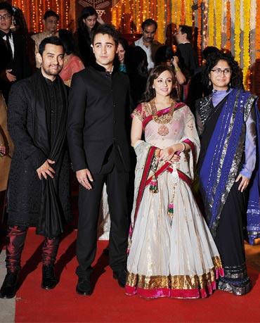 Aamir Khan, Imran Khan, Avantika Malik and Kiran Rao