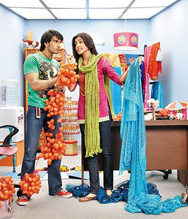A scene from Band Baaja Baarat