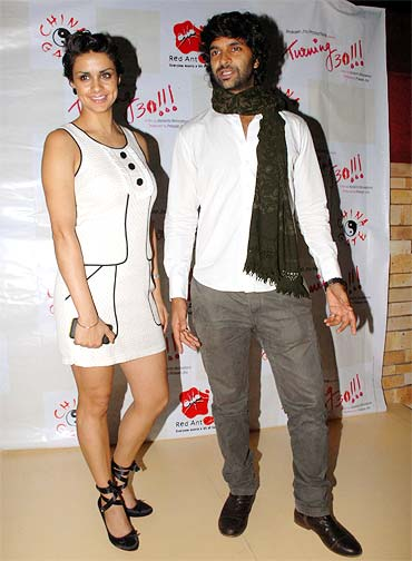 Gul Panag and Purab Kohli