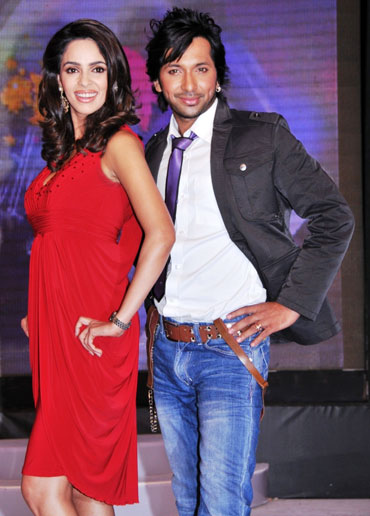 Mallika Sherawat and Terrence Lewis