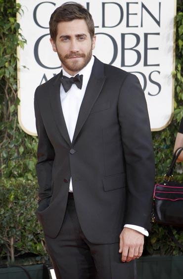 2011 Golden Globes Jake Gyllenhaal. Golden Globes 2011: On the Red