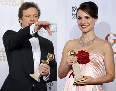 Colin Firth and Natalie Portman