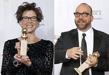 Annette Bening and Paul Giamatti