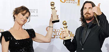 Melissa Leo and Christian Bale