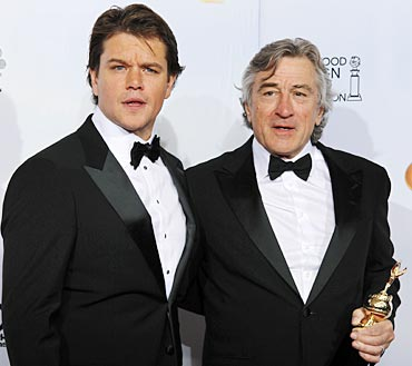 Matt Damon and Robert DeNiro