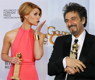 Claire Danes and Al Pacino