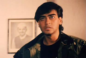 Ajay Devgn in Jigar (1992)
