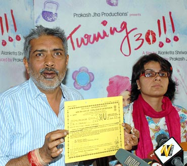 Prakash Jha and director Alankrita Shrivastava