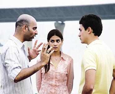 A scene from Jaane Tu... Ya Jaane Na
