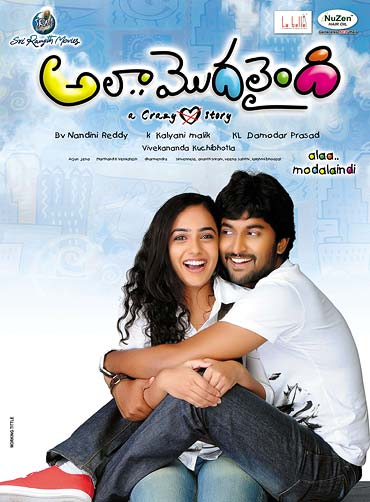 Movie poster of Ala Modalaindi