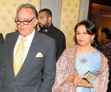 Mansoor Ali Khan Pataudi and Sharmlia Tagore