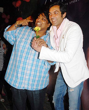 Ganesh Acharya and Bobby Deol
