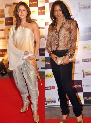 Urmila Matondkar and Sameera Reddy