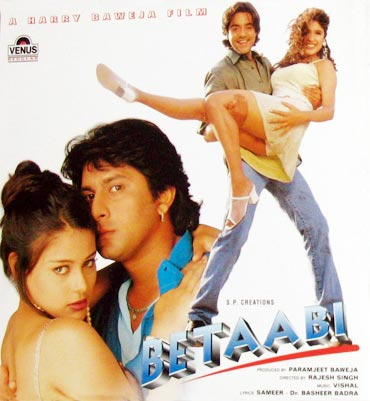 Movie poster of Betaabi