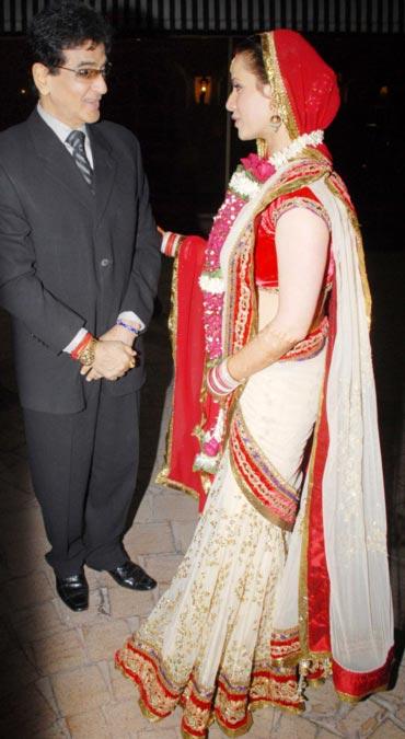 Jeetendra and Neelam Kothari