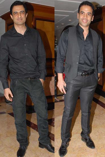 Sanjay Suri and Tusshar Kapoor