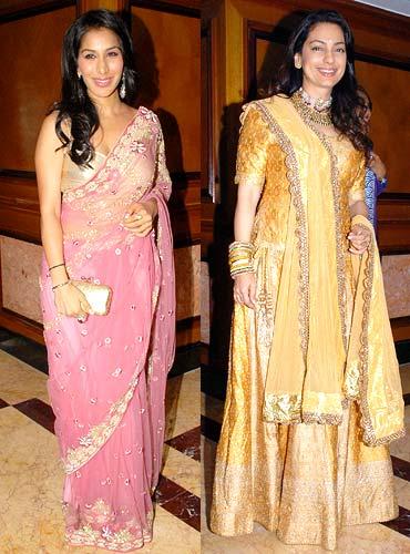 Sophie Choudhry and Juhi Chawla
