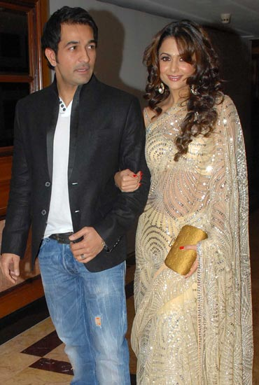 Shakeel Ladak and Amrita Arora