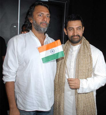 Rakeysh Omprakash Mehra and Aamir Khan