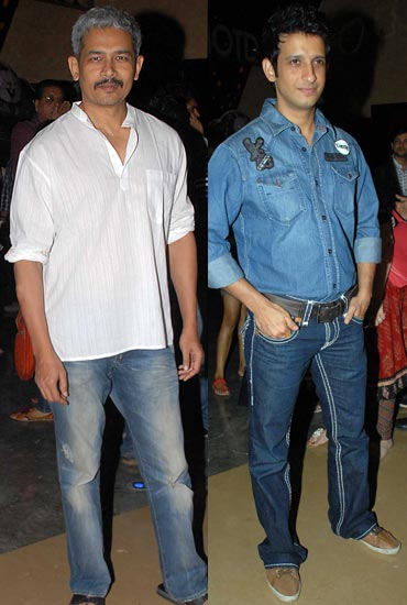 Atul Kulkarni and Sharman Joshi