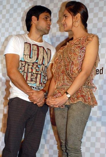 Emraan Hashmi and Shazahn Padamsee