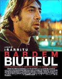 A poster of Biutiful