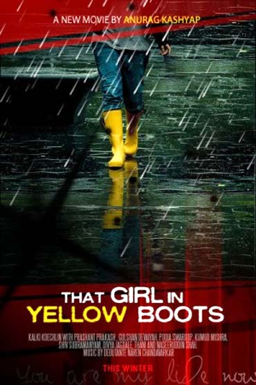 Movie poster of That Girl In Yellow Boots