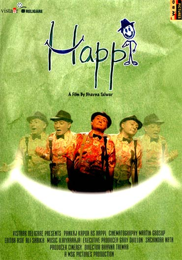 Movie poster of Happi