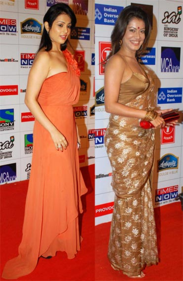 Anjana Sukhani and Payal Rohatgi