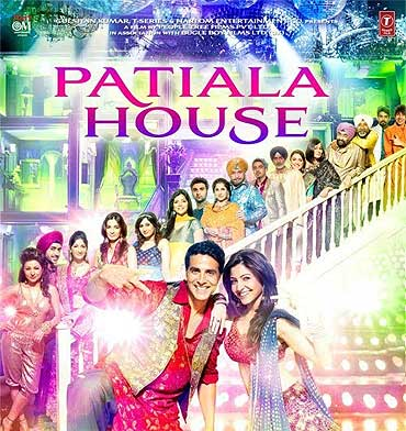 A poster of Patiala House