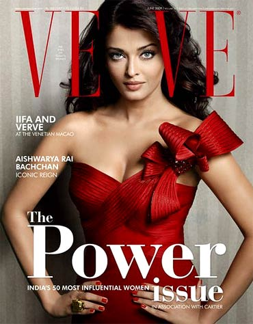 Aishwarya Rai Bachchan on the cover of Verve