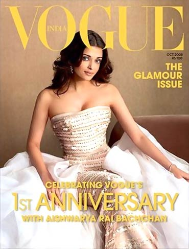 Aishwarya Rai Bachchan on the cover of Vogue