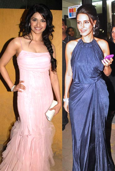 Prachi Desai and Neha Dhupia