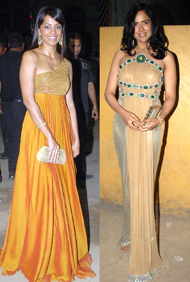 Mugdha Godse and Sameera Reddy