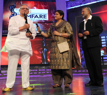 Gulzar, Supriya Pathak and Pankaj Kapur