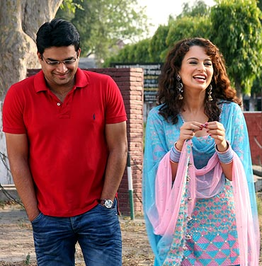 A still from Tanu Weds Manu