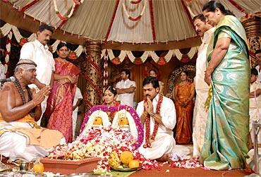 Ranjini's parents and Karthi's parents