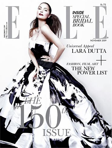 Lara Dutta on Elle
