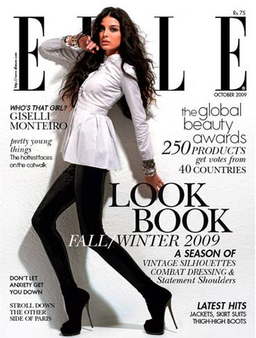 Giselli Monteiro on Elle