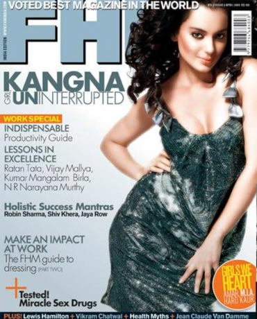 Kangna Ranaut on FHM