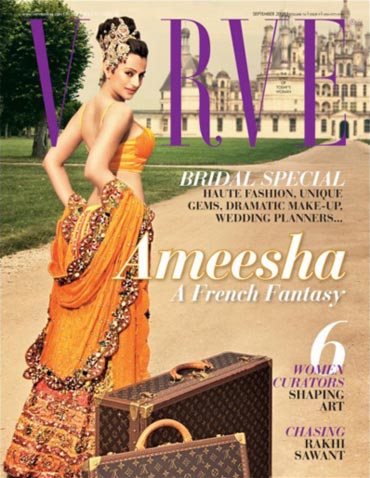Ameesha Patel on Verve